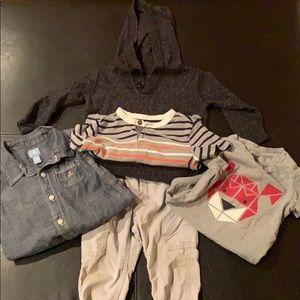 Boys baby clothes bundle 12-18 months